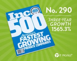It Works Inc 500