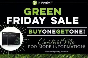 It Works Body Wraps BOGO!