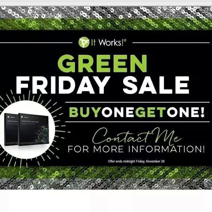 It Works Body Wraps BOGO