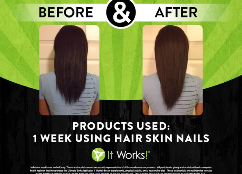 For Incredible Hair Skin & Nails – Try