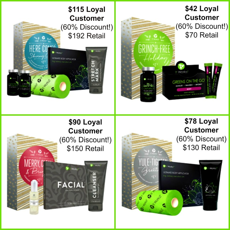 It Works Holiday Gift Sets