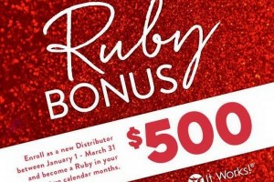 Attention New Distributors – $500 BONUS!
