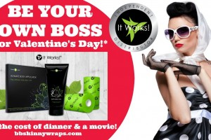 Be Your Own Boss for Valentine's Day!